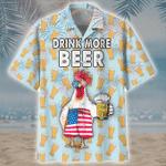 Drink More Beer Hawaiian Shirt | For Men & Women | Adult | HW6892