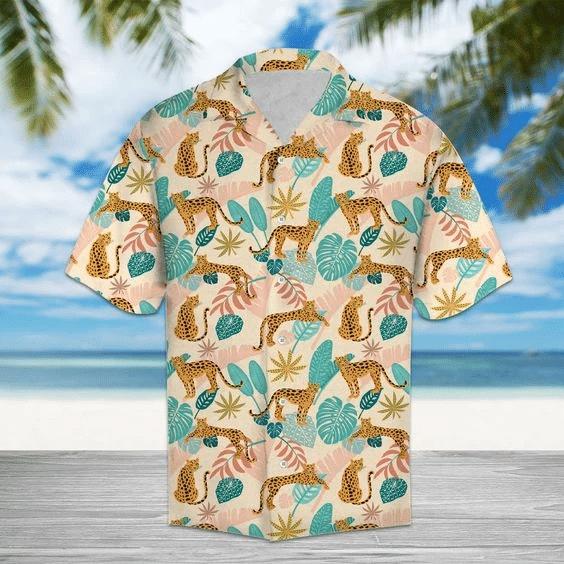 Amazing Leopard Hawaiian Shirt | For Men & Women | Adult | HW6228
