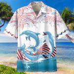 Dolphin Independence Hawaiian Shirt   For Men & Women   Adult   HW6519