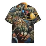 Dinosaur T-rex Hawaiian Shirt | For Men & Women | Adult | HW7421
