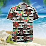 Firefighter Badges Hawaiian Shirt | For Men & Women | Adult | HW7430