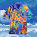 Colorful Basketball Player Hawaiian Shirt   For Men & Women   Adult   WT1417