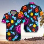 Bowling Space Color Hawaiian Shirt | For Men & Women | Adult | HW7484