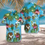 Bigfoot On The Beach Hawaiian Shirt | For Men & Women | Adult | HW7516
