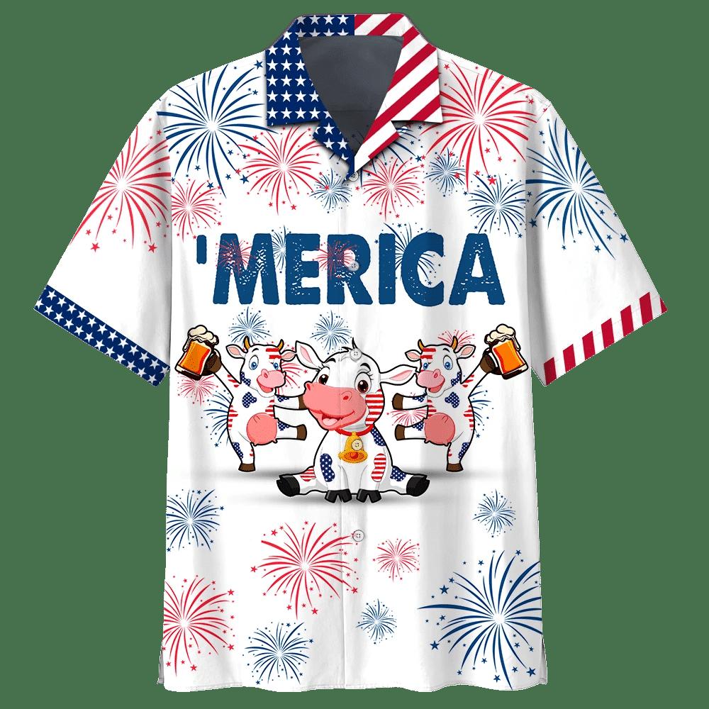 Cow Beer Hawaiian Shirt | For Men & Women | Adult | HW7216