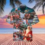 Train To Christmas Hawaiian Shirt   For Men & Women   Adult   WT1012