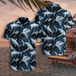 Under Water Shark Hawaiian Shirt   For Men & Women   Adult   HW7517
