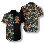Halloween Scary Pumpkin Hawaiian Shirt | For Men & Women | Adult | HW7639