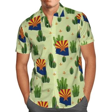 Arizona Cactus Hawaiian Shirt | For Men & Women | Adult | HW6499