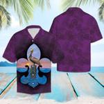 Purple Vintage Hawaiian Shirt   For Men & Women   Adult   HW6581