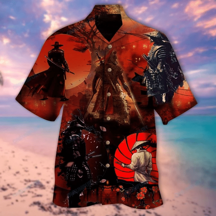 Turn Your Passion Into The Sharpest Weapon Samurai Hawaiian Shirt | For Men & Women | Adult | HW6197