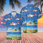 US Navy North American Hawaiian Shirt | For Men & Women | Adult | HW7680