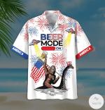 Bigfoot Beer Mode On Firework Hawaiian Shirt | For Men & Women | Adult | HW6936