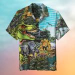 Dinosaur Hawaiian Shirt | For Men & Women | Adult | HW6668