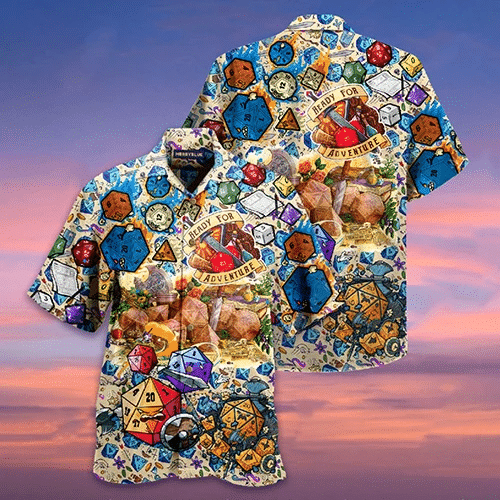 Life Is A Gamble So Roll The Dice Hawaiian Shirt | For Men & Women | Adult | HW6222
