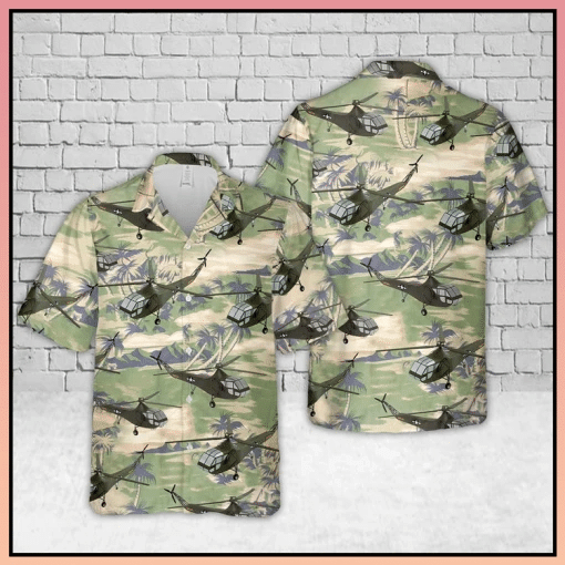 Helicopter Hawaiian Shirt   For Men & Women   Adult   HW6894