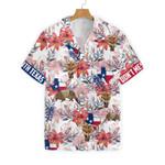 Texas Longhorn Bluebonnet And Armadillo Hawaiian Shirt | For Men & Women | Adult | HW7742