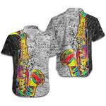 Saxophone Colorful Line Music Note Hawaiian Shirt | For Men & Women | Adult | HW7350