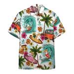 Enjoy Surfing With Corgi Dog Hawaiian Shirt   For Men & Women   Adult   HW6440