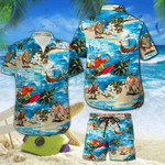 Surfing Hawaiian Shirt Set   Unisex   HS1112