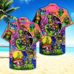 Hippie Alien Peace Life Color Limited Hawaiian Shirt | For Men & Women | Adult | HW4734