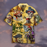 Skull Pirate Hawaiian Shirt | For Men & Women | Adult | HW4909