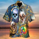 Skulls Wave Hawaiian Shirt | For Men & Women | Adult | HW6231