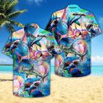 Colorful Sharks World Hawaiian Shirt   For Men & Women   Adult   HW4689