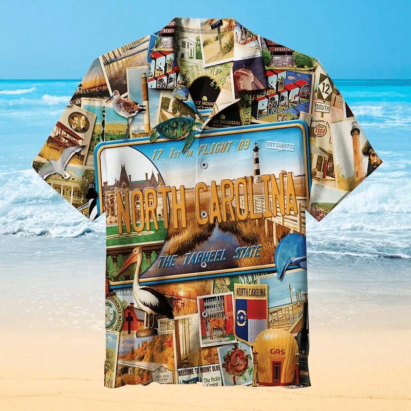 I Love North Carolina Hawaiian Shirt   For Men & Women   Adult   HW6890