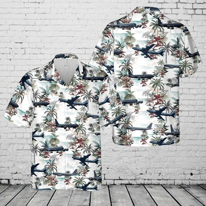 US Air Force Hawaiian Shirt | For Men & Women | Adult | HW7674