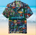 History of The Car Hawaiian Shirt   For Men & Women   Adult   HW6589