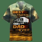 Dad Truckin' Dad Ever Hawaiian Shirt   For Men & Women   Adult   HW7202