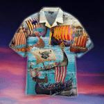 Viking Long Ship Hawaiian Shirt | For Men & Women | Adult | WT1206