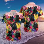 Black Cat Hawaiian Shirt   For Men & Women   Adult   HW7043