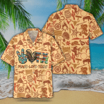 Peace Love Texas Hawaiian Shirt   For Men & Women   Adult   HW7558