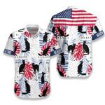 Black Cat Beach Time Hawaiian Shirt   For Men & Women   Adult   HW7035