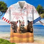 Horses Independence Day Hawaiian Shirt | For Men & Women | Adult | HW6866