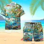 Dinosaurs Hawaiian Shirt Set | Unisex | HS1104