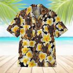 Plumeria German Shepherd Hawaiian Shirt | For Men & Women | Adult | HW6764