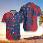 Red & Blue Chicago Hawaiian Shirt | For Men & Women | Adult | HW7164