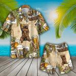 Bear & Beer Hawaiian Shirt Set | Unisex | HS1095