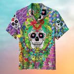 Classic Skull Hawaiian Shirt | For Men & Women | Adult | HW6704