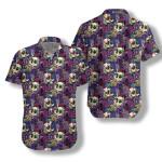 Mushrooms And Skulls Hawaiian Shirt   For Men & Women   Adult   HW7265