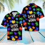 Autism Love Hawaiian Shirt   For Men & Women   Adult   HW6378