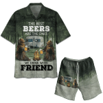 The Best Beers Are The Ones Hawaiian Shirt Set   Unisex   HS1124