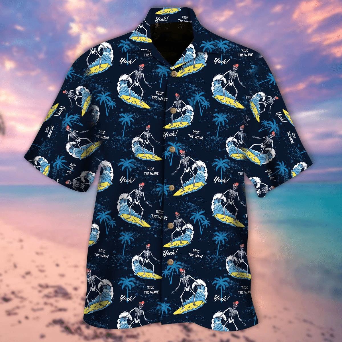 Ride The Wave Hawaiian Shirt | For Men & Women | Adult | HW6610