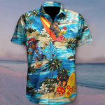 Dachshund And Beach Hawaiian Shirt   For Men & Women   Adult   HW6506