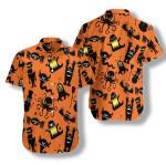Silhouette Monster Hawaiian Shirt | For Men & Women | Adult | HW7179