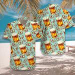 Beer & Pretzel Hawaiian Shirt | For Men & Women | Adult | HW7490