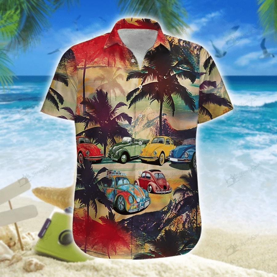 Car Hawaiian Shirt | For Men & Women | Adult | HW7446